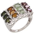 Ring 925 Sterling Silber rhodiniert Turmalin 21 - 100888800004 - 1 - 140px