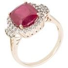Ring 375 Gelbgold Rubin behandelt 20 - 100919900003 - 1 - 140px