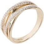 Ring 585 Gelbgold Diamant 18 - 100966500001 - 1 - 140px
