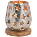 Alu-Windlicht Sterne 18cm - 100977900000 - 1 - 140px