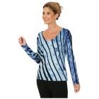 MILANO Design Pullover 'Sassari' schwarz/blau 36/38 - 100992400001 - 1 - 140px