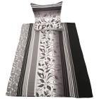 Biber Bettwäsche 135x200cm, schwarz-weiß - 101104600000 - 1 - 140px