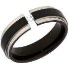 Ring Titan mit Zirkonia, schwarz plattiert   - 101170800000 - 1 - 140px