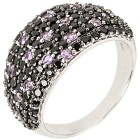 Ring 925 Sterling Silber Spinell Ametyst 20 - 101183700005 - 1 - 140px