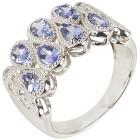 Ring 925 Sterling Silber rhodiniert Tansanit 18 - 101184400002 - 1 - 140px