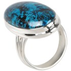 Ring 925 Sterling Silber Chrysokoll 17 - 101192600001 - 1 - 140px