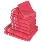 Handtuchset XXL pink, 10-teilig - 101215900000 - 1 - 140px