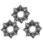 Wandspiegel silber 3er-Set - 101221700000 - 1 - 140px