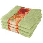 Handtuch 4er Set Lilie, grün - 101229900000 - 1 - 140px