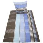 AllSeasons Bettwäsche 2-teilig, blau-braun - 101230500000 - 1 - 140px