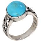 Ring 925 Sterling Silber Türkis stabilisiert 18 - 101236600001 - 1 - 140px
