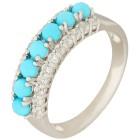 Ring 925 St. Silber Sleeping Beauty Türkis 17 - 101244300002 - 1 - 140px