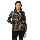 FASHION NEWS Damen-Bluse 'Loisa' multicolor L (44/46) - 101303100003 - 1 - 140px