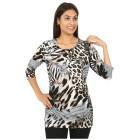 RÖSSLER SELECTION Damen-Longshirt multicolor 44 - 101304800005 - 1 - 140px