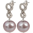 Ohrhänger 925 Silber Edison Perle rosa - 101312500000 - 1 - 140px