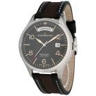 ADELSBERGER Herrenuhr Vintage-Zeit, schwarz, beige - 101321700000 - 1 - 140px