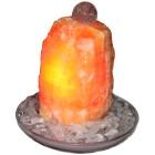 XXL-Brunnen Orangencalcit