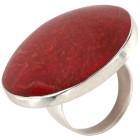 Ring 925 Sterling Silber Schaumkoralle 19 - 101360300002 - 1 - 140px