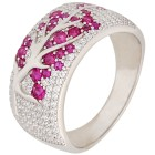 Ring 925 Sterling Silber Zirkonia 19 - 101367000002 - 1 - 140px
