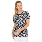 Damen-Shirt 'Mezzana' blau/weiß 36/38 (M/L) - 101449600001 - 1 - 140px
