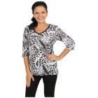 BRILLIANTSHIRTS Shirt 'Dolcedo' schwarz/weiß/grau 48/50 - 101463200004 - 1 - 140px