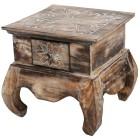 Opiumtisch mit Schublade 38x38cm - 101491400000 - 1 - 140px