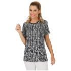 Damen-Shirt 'Mattinata' blau/weiß 36/38 (M) - 101495600001 - 1 - 140px