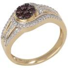 Ring 585 Gelbgold Brillanten Diamanten 18 - 101544600001 - 1 - 140px