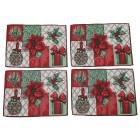 Gobelin-Platzset Weihnachten 4tlg. rot-grün - 101546000000 - 1 - 140px