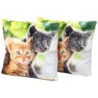 Dekokissen Katzenpaar 2er Set, Fotodruck - 101570500000 - 1 - 140px