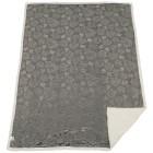 Lammimitat-Decke Rosen 150x200cm grau - 101570800000 - 1 - 140px
