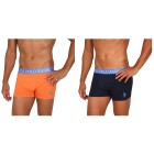 2er Pack US. POLO ASSN. Boxershorts orange/marine L - 101572700002 - 1 - 140px