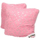 Stoffhanse Kissen 80 x 80 cm, rosé-silber - 101603500000 - 1 - 140px