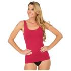 Damen-Baumwoll-Trägerhemd rot 36/38 (S) - 101608100001 - 1 - 140px