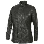 Sportliche Herren-Kunstleder-Jacke schwarz 46 (S) - 101613800001 - 1 - 140px