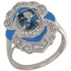 Ring 925 Silber London Blue Topas behandelt 20 - 101616600003 - 1 - 140px