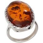 Ring 925 Sterling Silber, Bernstein 18 - 101645200001 - 1 - 140px
