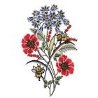 Plauener Spitze Fensterbild Blumen & Bienen - 101654200000 - 1 - 140px