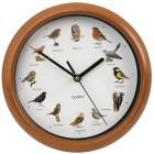 EASYmaxx Wanduhr Vogelstimmen 25cm - 101665700000 - 1 - 140px