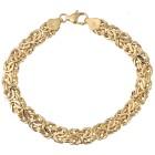 "Königsketten-Armband ""Byzanz"" 585 Gold, ca. 20,5cm - 101666500000 - 1 - 140px"