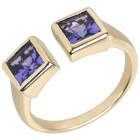 STAR Ring 585 Gelbgold AAAA Tansanit 18 - 101700600001 - 1 - 140px