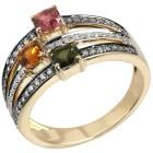 STAR Ring 585 Gelbgold AAA Turmalin grün   - 101700700000 - 1 - 140px