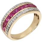 STAR Ring 585 Gelbgold Rubin Thailand 18 - 101701000001 - 1 - 140px