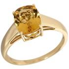 STAR Ring 585 Gelbgold AAA Aquamarin gelb, poliert   - 101701400000 - 1 - 140px