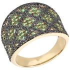 STAR Ring 585 Gelbgold AAA Tsavorit 18 - 101701900001 - 1 - 140px