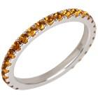 Ring 925 Sterling Silber Citrin 16 - 101703000001 - 1 - 140px