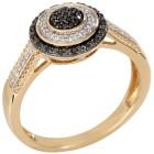 Ring 585 Gelbgold Diamanten 18 - 101715700001 - 1 - 140px