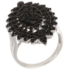 Ring 925 Sterling Silber rhodiniert, Spinell 18 - 101736600001 - 1 - 140px