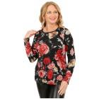 Damen-Feinstrick-Pullover 'Gilian' multicolor 42/44 (L/XL) - 101740800002 - 1 - 140px