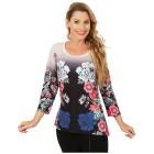 BRILLIANTSHIRTS Shirt 'Annona' multicolor